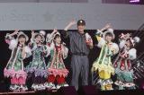 """ももいろクローバーZ恒例のクリスマス公演で""""登板""""した田中将大投手 photo by HAJIME KAMIIISAKA+Z"""