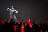 モノノフの声援を受け、百田夏菜子と1打席対決を行った田中将大投手 photo by HAJIME KAMIIISAKA+Z