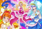 2015年2月1日スタート『Go!プリンセスプリキュア』3人のプリキュア(C)ABC ・東映アニメーション