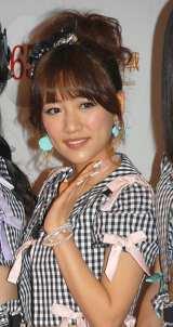 『第65回NHK紅白歌合戦』の初日リハーサルに参加したAKB48・高橋みなみ (C)ORICON NewS inc.
