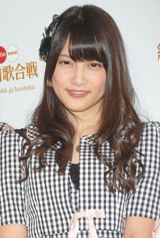 『第65回NHK紅白歌合戦』の初日リハーサルに参加したAKB48・入山杏奈 (C)ORICON NewS inc.