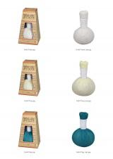 タイ伝統の本格ハーブで蒸しマッサージ『ハーブボール タイエステL』(オープン価格/紀陽除虫菊)商品3色