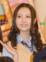 HKT冠番組『HaKaTa百貨店 3号館』収録後囲み取材に応じた森保まどか (C)ORICON NewS inc.