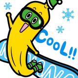 1月17日〜25日に放送の『スノーボード&フリースタイルスキー世界選手権2015』にあわせて、ナナナのLINEスタンプが登場(C)テレビ東京
