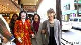 1月9日放送、フジテレビ系『バナナマンの決断は金曜日!』で所属事務所の太田光代社長と箱根を旅する日本エレキテル連合