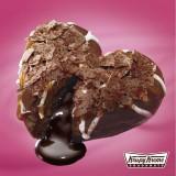 中からチョコがとろけ出る新食感ドーナツが登場!