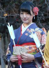 乃木坂46成人式に出席した中田花奈 (C)ORICON NewS inc.