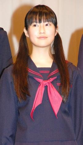 恒松祐里=映画『くちびるに歌を』(2月18日公開)完成披露舞台 (C)ORICON NewS inc.