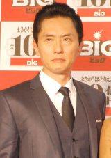 松重豊=『10億円BIG』販売開始PRイベント (C)ORICON NewS inc.