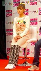 ドラマ『保育探偵25時 花咲慎一郎は眠れない!!』製作発表記者会見に出席した福本愛菜 (C)ORICON NewS inc.