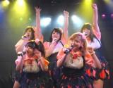 Pottyaがデビュー曲「ポ・ポ・ポ・ポチャりん子☆」を初披露 (C)ORICON NewS inc.