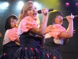 デビュー曲「ポ・ポ・ポ・ポチャりん子☆」を初披露したPottya (C)ORICON NewS inc.