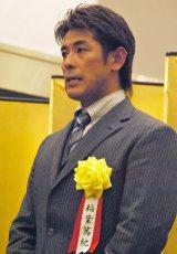 『報道ステーション』の野球解説者に就任する稲葉篤紀 (C)ORICON NewS inc.