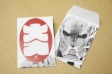 東京・上野の森美術館で開催中の『進撃の巨人展』来場者数が25万人を突破。1月19日より来場者に大入り袋をプレゼント(C)諫山創・講談社/「進撃の巨人展」製作委員会