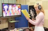 E-girlsのAmiがアフレコに挑戦 (C)さくらプロダクション/日本アニメーション (C)フジテレビ