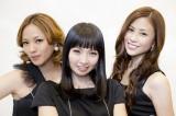 20周年のMAX(左から)LINA、MINA、NANA(撮影:草刈雅之)