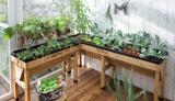 英国発の菜園ブランド「ベジトラグ」の『木製菜園プランター ベジトラグ』なら、省スペースでも簡単に家庭菜園が楽しめる