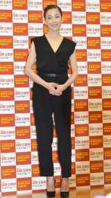 『第26回 日本ジュエリー ベストドレッサー』表彰式に出席した宮沢りえ (C)ORICON NewS inc.