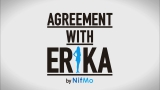 『AGREEMENT WITH ERIKA』ロゴ