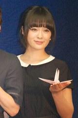映画『悼む人』の会見に出席した貫地谷しほり (C)ORICON NewS inc.