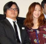 第1子を授かった飯塚健&井上和香夫妻(写真=12年1月・2人の出会いとなった映画『荒川アンダーザブリッジ THE MOVIE』のイベントにて撮影) (C)ORICON NewS inc.