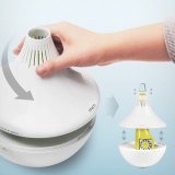 給水タンクを使わず水に浮かべて使う超音波式加湿器『MIRO CleanPot』 分解洗いができて、組み立ても簡単