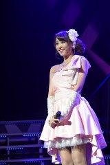 50位穐田和恵=『AKB48リクエストアワー セットリストベスト1035 2015』最終日昼公演(C)AKS