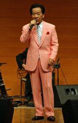 古賀政男音楽博物館けやきホールで古賀政男さんの生誕110周年記念コンサートを開催した大川栄策