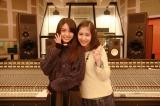 元可憐Girl's・島ゆいか(左)と元さくら学院・飯田來麗が音楽プロジェクトを始動