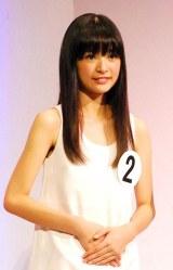 グランプリに選ばれた13歳の菅野莉奈さん (C)ORICON DD inc.