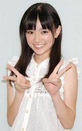 『ホリプロタレントスカウトキャラバン2012』でグランプリを獲得した優希美青 (C)ORICON DD inc.