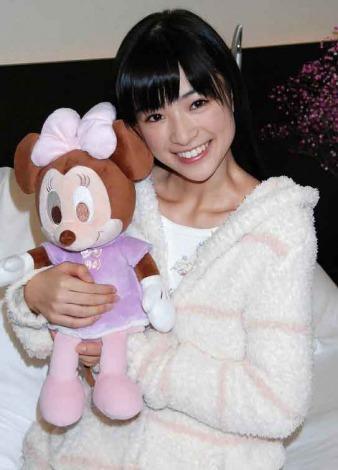 ミニーちゃんと優希美青。
