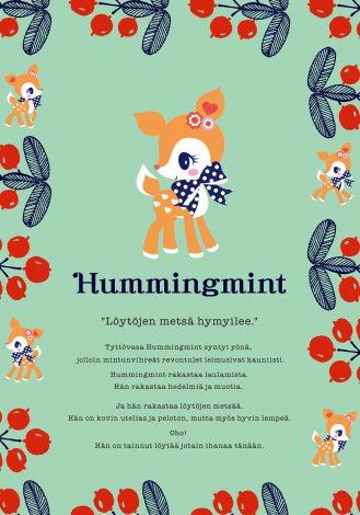 サンリオの新キャラクター・北欧生まれの小鹿の女の子「ハミングミント」