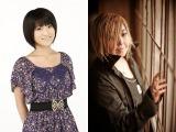 アニメ『暗殺教室』に出演する藤田咲(左)と緒方恵美(右)