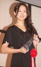 『2014年エランドール賞』を受賞した木村文乃 (C)ORICON NewS inc.