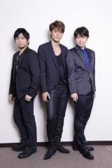 新劇場版『頭文字D』への思いを語ってくれた(左から)中村悠一、宮野真守、小野大輔 photo by Takako Kanai