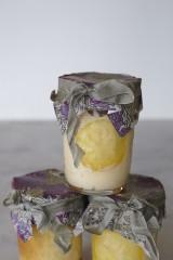 レシピ本『ジャーケーキ チーズ&チョコレート』(著:若山曜子、撮影:木村拓/宙出版)のレモンチーズムース