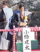 池上本願寺で行われた節分追儺式に出席した小橋建太 (C)ORICON NewS inc.