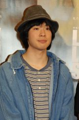 NHK特集ドラマ『LIVE! LOVE! SING! 生きて愛して歌うこと』記者会見に出席した渡辺大知 (C)ORICON NewS inc.
