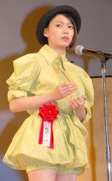 新人賞を受賞した二階堂ふみ=『2015年エランドール賞』授賞式 (C)ORICON NewS inc.