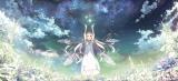 オリジナル劇場アニメ『ガラスの花と壊す世界』キービジュアル(C)Project D.backup