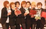 THE HOOPERSの(左から)陽稀、星波、麻琴、未来、佑妃、泉貴、つばさ (C)ORICON NewS inc.