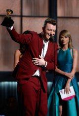 最優秀新人賞のサム・スミス (C)Getty Images