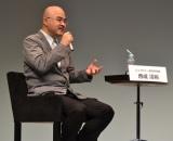 """東京大学教授で""""渋滞学""""を研究する西成教授がナビゲート (C)oricon ME inc."""