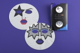 『KISSフェイスパック』(ポール・スタンレー&トミー・セイヤー)2枚入り/税込900円