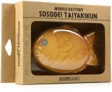 たい焼き型モバイルバッテリー『SOSOGE! TAIYAKIKUN(そそげ!たいやきくん)』(税込5940円) パッケージイメージ