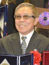 日本クラウンヒット賞贈呈式に出席した北島三郎 (C)ORICON NewS inc.