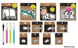 """""""画伯""""田辺誠一作の人気キャラクター『かっこいい犬。』が文具に! シリーズ第2弾が登場"""
