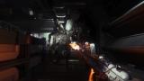 PlayStation 4/Xbox One用ソフト『ALIEN:ISOLATION -エイリアン アイソレーション-』では、さまざまなアイテムを駆使してゲームのクリアを目指す。写真の火炎放射器はエイリアンを退けることのできる貴重なアイテム