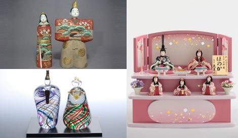 インテリアとして大人需要が高まるひな人形、一点ものや古典的なデザインが人気
